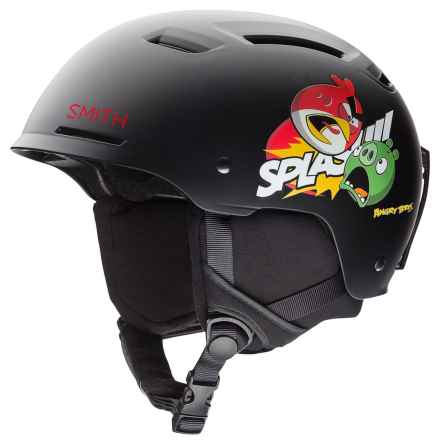Smith Optics Pivot Jr. Ski Helmet (For Little and Big Kids) in Matte Angry Birds - Closeouts