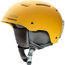 Smith Optics Pivot Ski Helmet in Matte Mustard Conditions - Closeouts