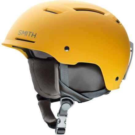 Smith Optics Pivot Ski Helmet in Matte Mustard Conditions - Closeouts