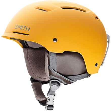 Smith Optics Pivot Snowsport Helmet - MIPS in Matte Mustard Conditions - Closeouts