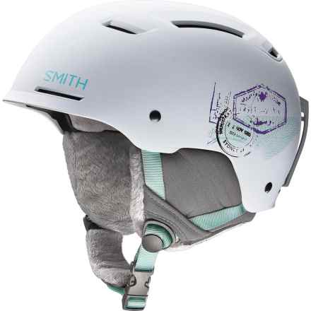 Smith Optics Pointe Ski Helmet (For Women) in Matte White Wanderlust - Closeouts