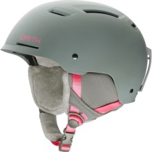 Smith Optics Pointe Ski Helmet - MIPS (For Women) in Matte Frost Pink - Closeouts