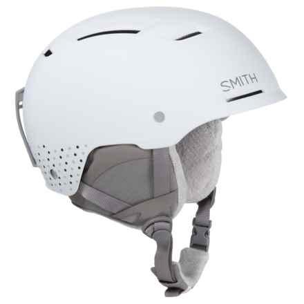Smith Optics Pointe Ski Helmet - Size Medium, MIPS (For Women) in White Dots - Closeouts