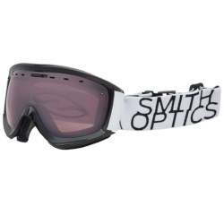 Smith Optics Prophecy Snowsport Goggles in Black/White Data/Ignitor Mirror