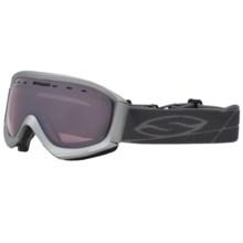 Smith Optics Prophecy Snowsport Goggles in Graphite/Ignitor Mirror - Closeouts