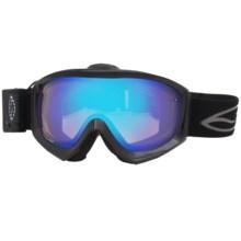 Smith Optics Prophecy Turbo Snowsport Goggles in Black/Blue Sensor Mirror - Closeouts