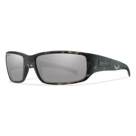 2e8cc6e9cb50 Smith Optics Prospect Sunglasses - ChromaPop® Polarized Lenses in Matte  Camo Platinum