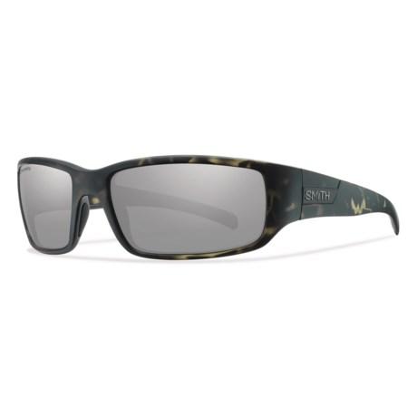e1c989aa4f4 Smith Optics Prospect Sunglasses - ChromaPop® Polarized Lenses in Matte  Camo Platinum