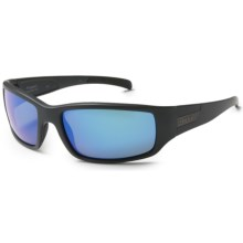 Smith Optics Prospect Sunglasses - Polarized, Carbonic TLT Lenses in Matte Black/Blue Mirror - Closeouts