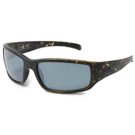 Smith Optics Prospect Sunglasses - Polarized Carbonic TLT Lenses in Matte Camo/Platinum - Closeouts