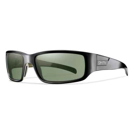 Smith Optics Prospect Sunglasses - Polarized ChromaPop Lenses in Black/Gray Green - Overstock