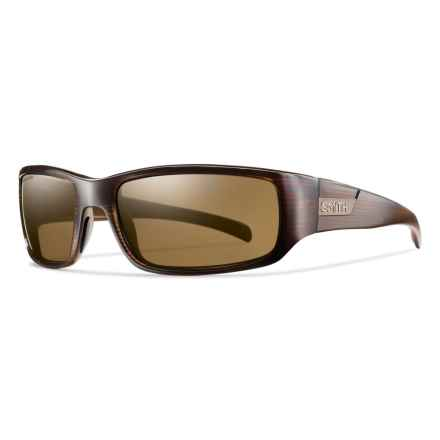 Smith Optics Prospect Sunglasses - Polarized ChromaPop Lenses in Brown Stripe/Brown - Overstock