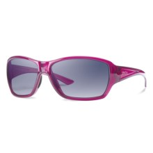Smith Optics Purist Sunglasses - Carbonic TLT Lenses (For Women) in Crystal Plum/Indigo Gradient - Closeouts