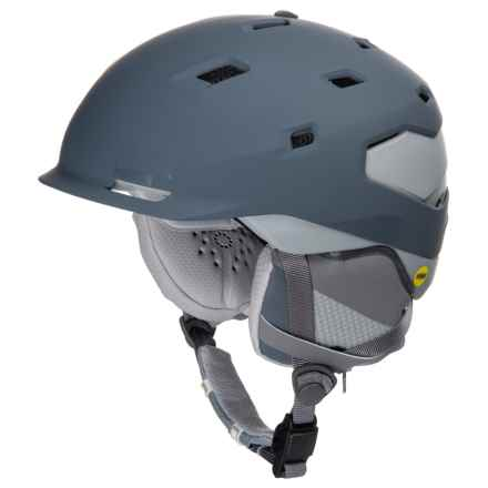 Smith Optics Quantum Ski Helmet - Asian Fit, MIPS in Matte Thunder Grey - Closeouts