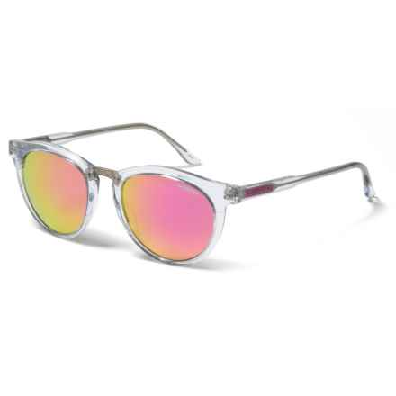 Smith Optics Questa Sunglasses (For Women) in Crystal/Pink Mirror - Closeouts