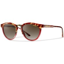 Smith Optics Questa Sunglasses (For Women) in Red Tortoise/Brown Gradient - Closeouts