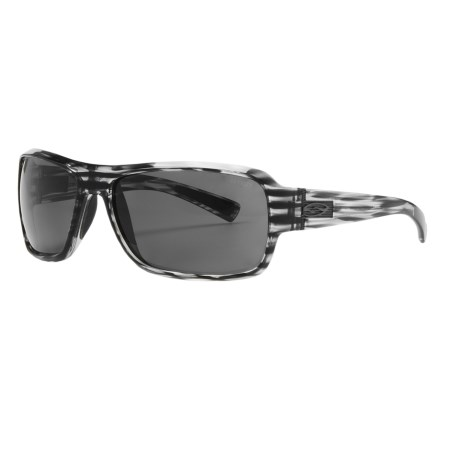 Smith Optics Rambler Sunglasses - Polarized in Black Stripe/Grey