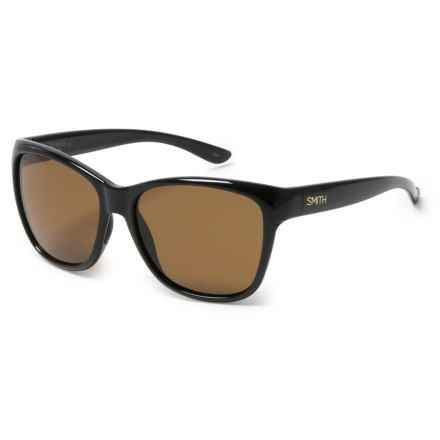 Smith Optics Ramona Sunglasses - Polarized ChromaPop® Lenses in Black/Brown - Overstock
