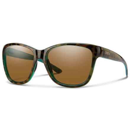 Smith Optics Ramona Sunglasses - Polarized ChromaPop® Lenses in Tort Marine/Brown - Overstock