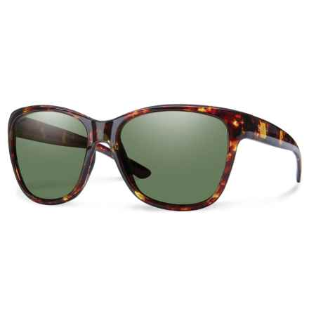 Smith Optics Ramona Sunglasses - Polarized ChromaPop® Lenses in Tortoise/Gray Green - Overstock