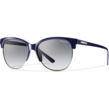Smith Optics Rebel Sunglasses (For Women) in Blue/Grey Gradient - Closeouts