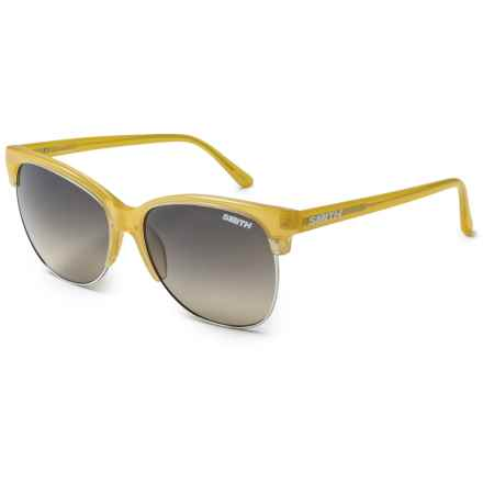 Smith Optics Rebel Sunglasses (For Women) in Lemon/Brown Gradient - Closeouts
