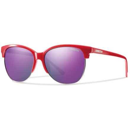 Smith Optics Rebel Sunglasses (For Women) in Red/Purple Sol-X - Closeouts