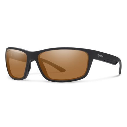 482aae4c68e Smith Optics Redmond Sunglasses - Polarized ChromaPop® Lenses (For Men) in  Matte Black