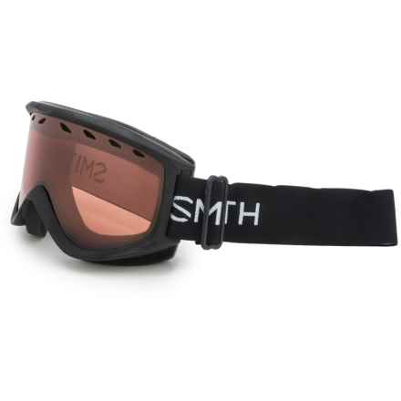 Smith Optics Ridgeline Ski Goggles in Black/Rc36 - Closeouts