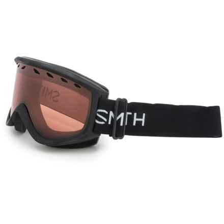 Smith Optics Ridgeline Ski Goggles in Black/Rc36 - Closeouts