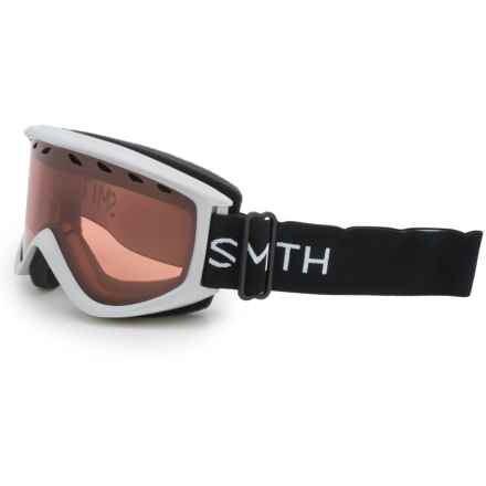 Smith Optics Ridgeline Ski Goggles in Silver/Rc36 - Closeouts
