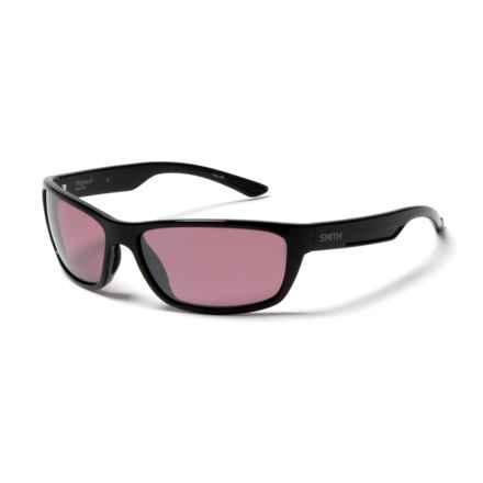 Smith Optics Ridgewell Polarchromic Techlite Sunglasses - Polarized, Photochromic in Black/Ignitor - Closeouts