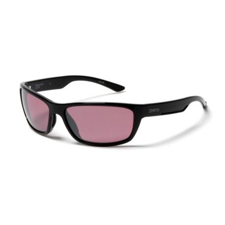 Smith Optics Ridgewell Polarchromic Techlite Sunglasses - Polarized, Photochromic in Black/Ignitor