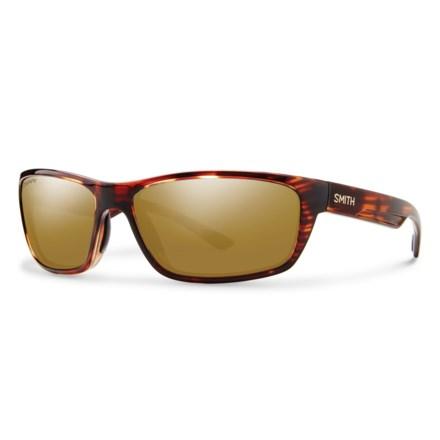 17804c3b583a Smith Optics Ridgewell Sunglasses - Polarized ChromaPop® Lenses - (For Men)  in Tortoise