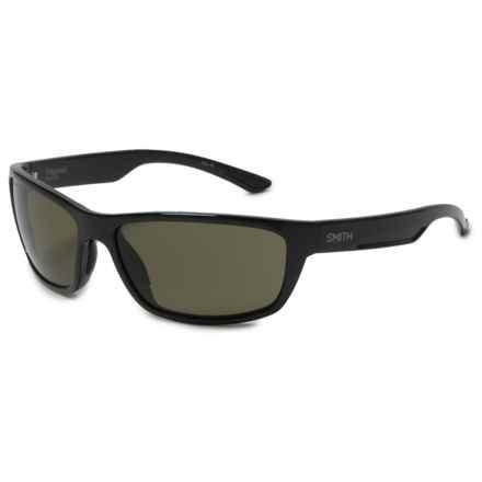 Smith Optics Ridgewell Sunglasses - Polarized ChromaPop® Lenses in Black/Gray/Green - Overstock