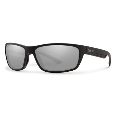 27ced79905d Smith Optics Ridgewell Sunglasses - Polarized ChromaPop® Lenses in Matte  Black Platinum - Closeouts