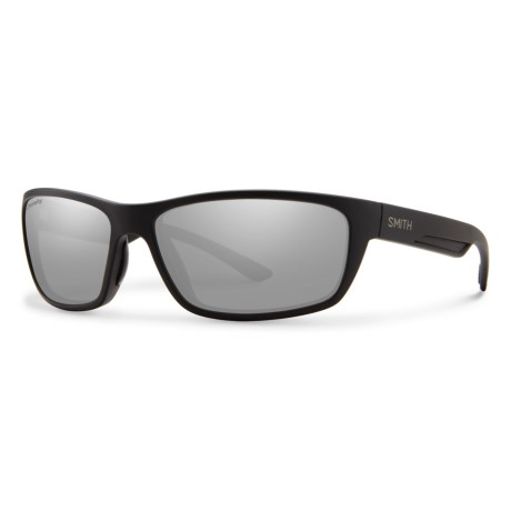c1f751f6af Smith Optics Ridgewell Sunglasses - Polarized ChromaPop® Lenses in Matte  Black Platinum