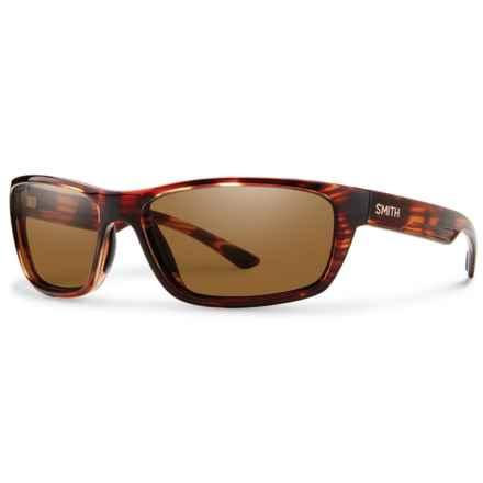 Smith Optics Ridgewell Sunglasses - Polarized ChromaPop® Lenses in Tortoise/Brown - Overstock