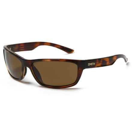 Smith Optics Ridgewell Sunglasses - Polarized Techlite Glass Lenses in Tortoise/Brown - Closeouts