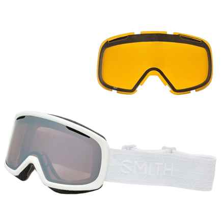 Smith Optics Riot Ski Goggles - Extra Lens (For Women) in White Eclipse/Ignitor/Yellow - Closeouts