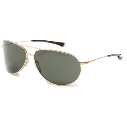 0463330d6746 Smith Optics Rockford Sunglasses - Polarized Carbonic Lenses in Matte Gold/Green  - Overstock