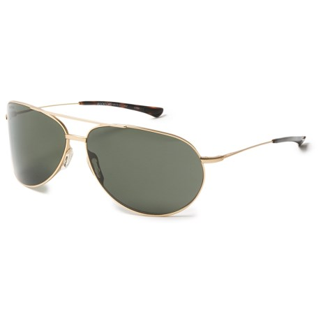 Smith Optics Rockford Sunglasses - Polarized Carbonic Lenses in Matte Gold/Green