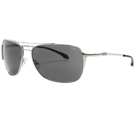 Smith Optics Rosewood Sunglasses - Polarized (For Women) in Matte Gunmetal/Grey