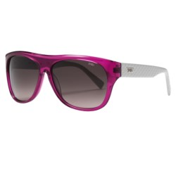 Smith Optics Roundhouse Sunglasses in Pink Grey/Brown Gradient