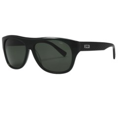 Smith Optics Roundhouse Sunglasses - Polarized in Smoke Black/Grey Green