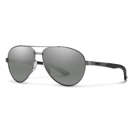 eaa3fe9dfcb Smith Optics Salute Sunglasses (For Women) in Dark Ruthenium  Platinum -  Closeouts