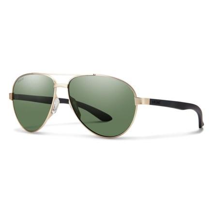 82144b14ef8c Smith Optics Salute Sunglasses - Polarized (For Women) in Gold Gray Green -