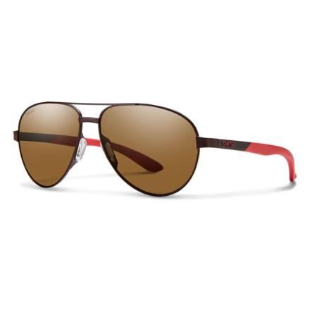 18449fd452 Smith Optics Salute Sunglasses - Polarized (For Women) in Matte Brown Brown  -