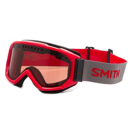 928f42001dd3 Smith Optics Scope Graphic Airflow Ski Goggles - Mirror Lens in Fire Rc36 -  Closeouts