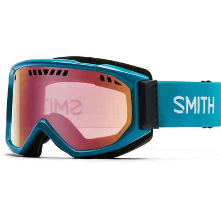 Smith Optics Scope Graphic Ski Goggles in Pacific/Red Sol-X - Closeouts